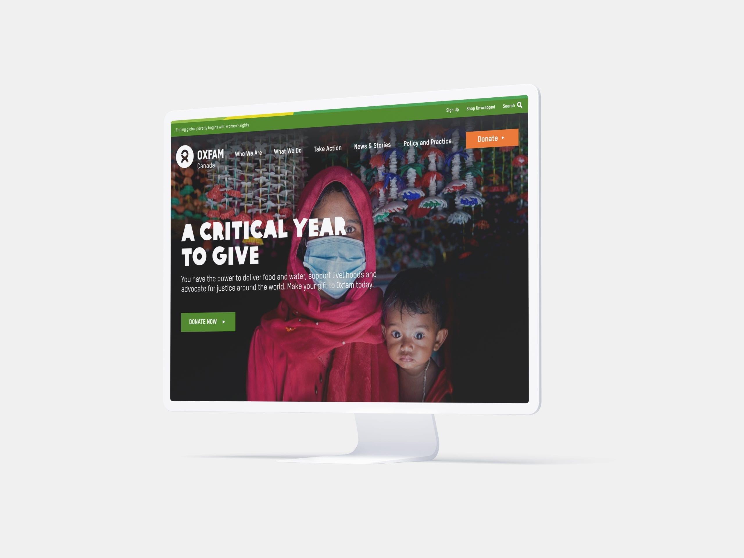 Oxfam_donationpage